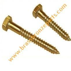 Brass Square Head Slotted Screws