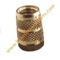 Brass Diamond Knurl Double Groove