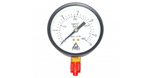 Glycerine Filled Temperature Gauge