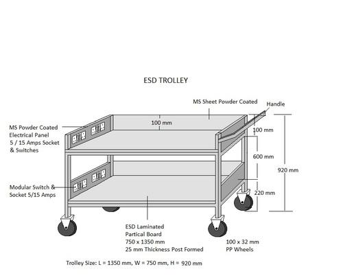 ESD MS Trolley