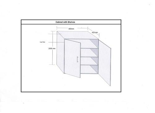 ESD Shelf Cabinet