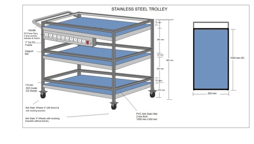 SS Trolley 3sh