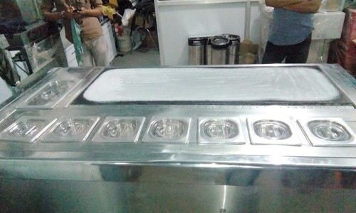 Stone Ice Cream Machine