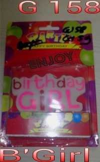 Birth Day Girl Candles
