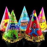 Coloured Birthday Cap
