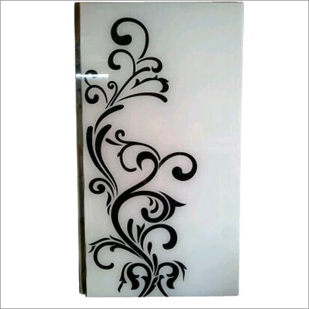 Back paint Art Glass