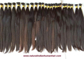 Single Drawn Natural Human Hair