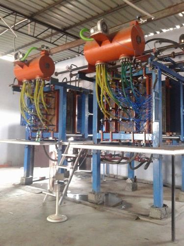 Thermocol shape moulding machine
