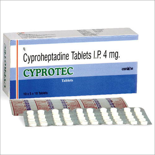 Cyproheptadine 4mg Tablets