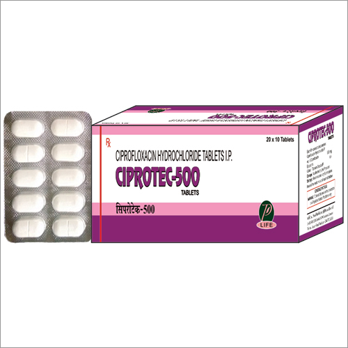 Ciprofloxacin Hydrochloride Tablets 500 mg