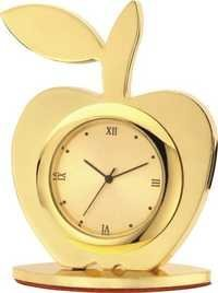 Apple Shape Clock