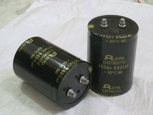 400wv 6800uF AEC-5 Electrolyte Capacitor