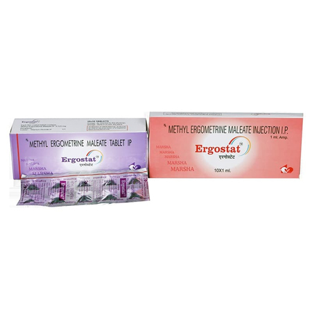 Methyl Ergometrine Maleate Tablets & Injections