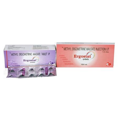 Methyl Ergometrine Maleate Tablets & Injections