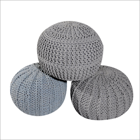Fancy Cotton Pouf