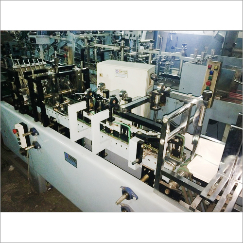 Cache Cover Folding Gluing Machine