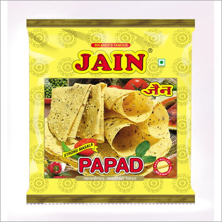 Strong Masala Papad