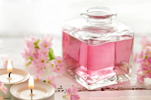 Perfume for Pink Bath Soaps