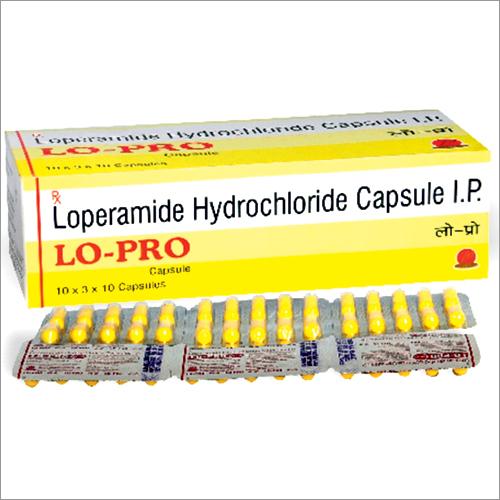 Loperamide Hydrochloride Capsules