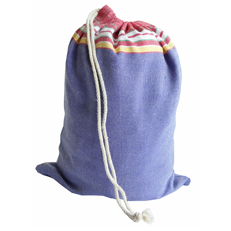 Kikoy Towel Bag With String