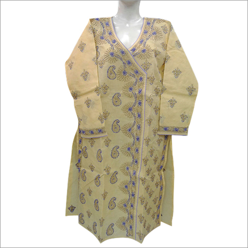 Patchwork Embroidered Kurti