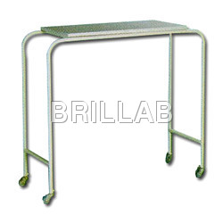 SS Over Bed Table