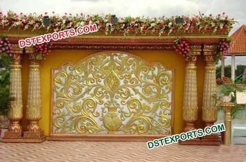 Wedding Fiber Backdrop Frame Decorations