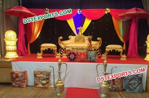 Asian Wedding Mehndi Theem Decorations