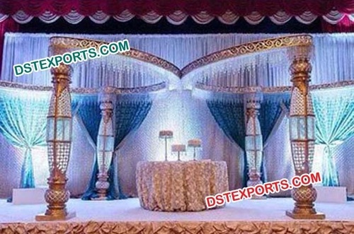 Wedding Crystal Mnadap With Butterfly Mehrabb