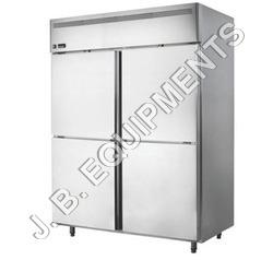 Silver Four Door Refrigerator