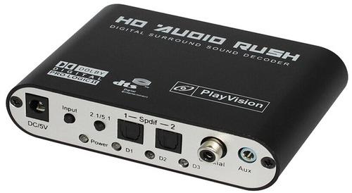 Digital to 5.1CH RCA Decoder