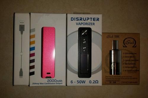 Disrupter 50 watt & Isub tank bundle