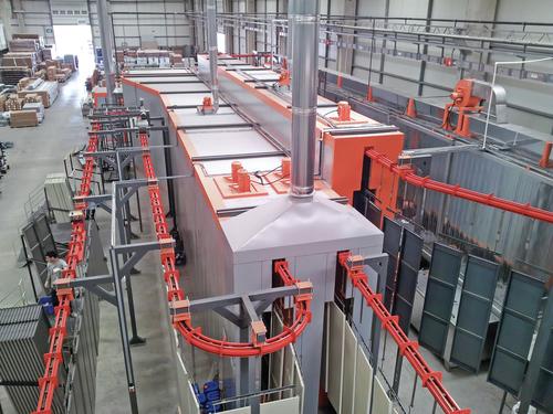 Turnkey Powder Coating Plant Machines