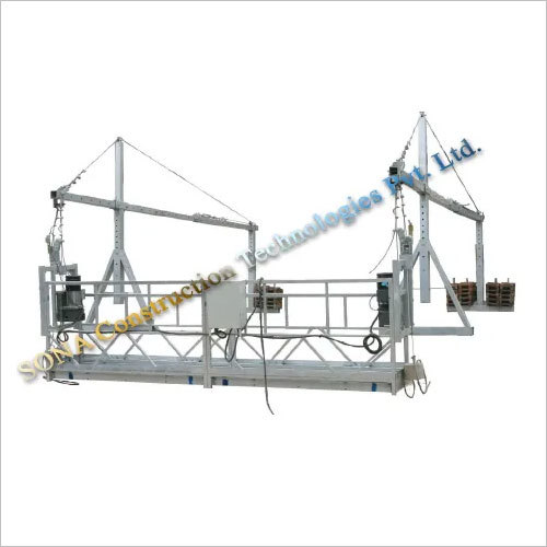 Single Hoister Suspended Platform
