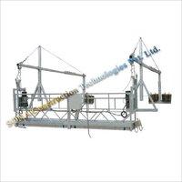 Single Hoister Suspended Platform