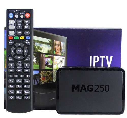 TV MAG 250 IPTV SET TOP BOX Multimedia player Internet TV IP