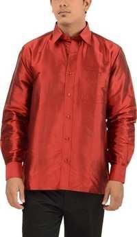 Mens Red Shirts