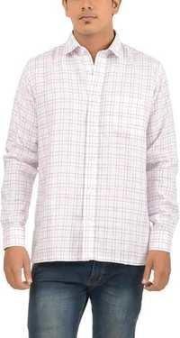 White Check Shirts