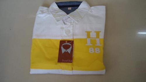 Printed White Shirt