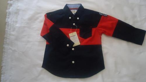 Printed Black Shirt