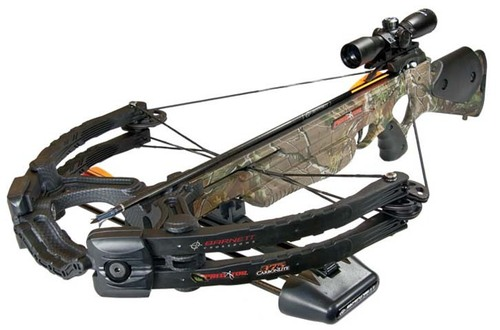 Barnett Predator Carbon Crossbow 375 FPS With Carbon Arrows