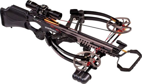 Barnett Vengeance carbon Crossbow 365 FPS With Carbon Arrows