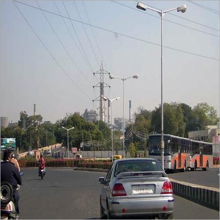 Road Side Light Poles