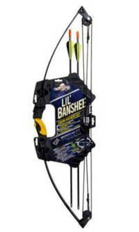 Team Realtree Lil Banshee Compound Bow For Junior Beginners