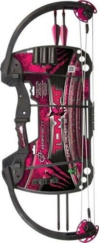 Barnett Tomcat Compound Bow- Pink for Beginners