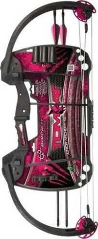Barnett Tomcat Compound Bow- Pink for Beginners