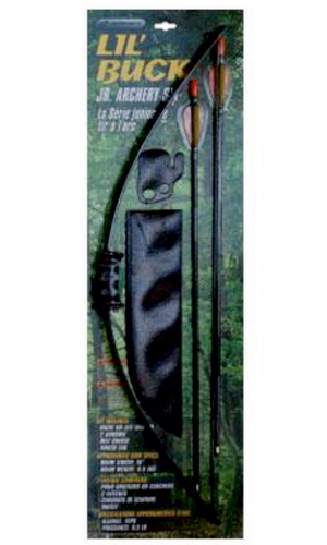 Barnett Lil Buck Junior Archery Recurve Bow Set