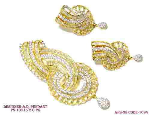 Amercian Diamond Pendant