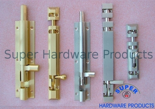 Solid Brass Tower Bolts UK