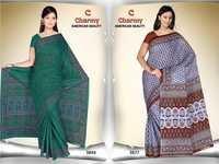 New Printed Cotton Saree Catalog